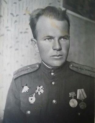 Копосов П.А. Герой ВОВ