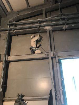 Ремонт огнезащитного покрытия в Тобольске