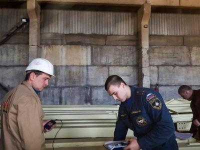 Инженерное сопровождение работ по огнезащите